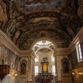 Church of San Rocco by Lee Davenport - Buildings & Architecture Places of Worship