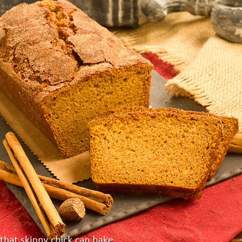 Cinnamon Crusted Pumpkin Bread
