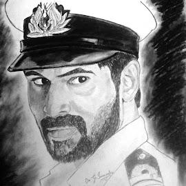 The torpedo striking hard in cinemas #Goosebumps #patriotism #indiannavy #Rana #Gaazi by Surender Gangineni - Drawing All Drawing