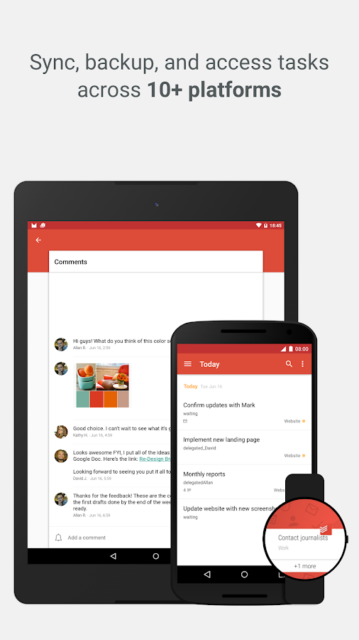 Todoist: To-Do List, Task List Screenshot 4