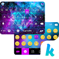 Galaxy Sparkle Kika Keyboard 8.0 icon