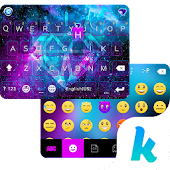 Free Galaxy Sparkle Kika Keyboard APK for Windows 8