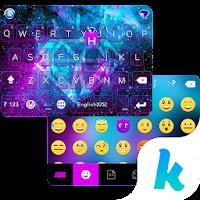 Galaxy Sparkle Kika Keyboard For PC (Windows And Mac)