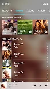 Samsung Music- screenshot thumbnail