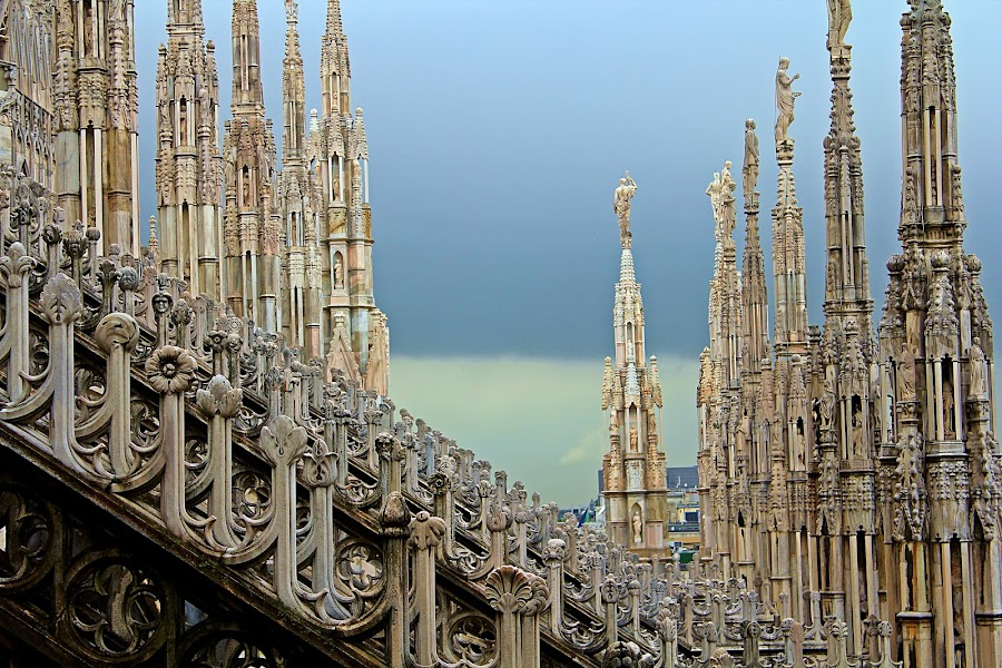 Milan Duomo by Bryan Rasmussen - Artistic Objects Other Objects