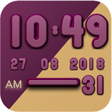 Berry digital clock