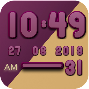 Cover art Berry digital clock