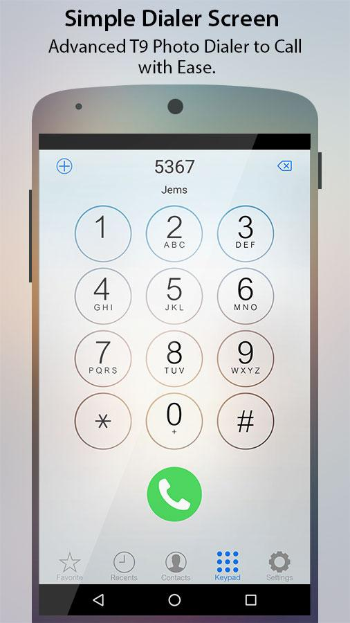 Caller Screen Dialer Pro Screenshot 0