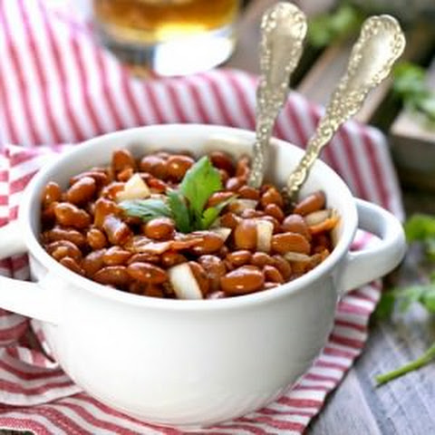 Bourbon Bacon Baked Beans