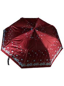 """Зонт """"Компакт L"""", 110см, малиново-голубой"""