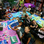 Monet's Water Lilies Painting Party