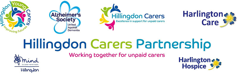 The partnership is a group of five charities that have come together to improve support for carers in Hillingdon: Alzheimer's Society, Harlington Care, Harlington Hospice, Hillingdon Carers including Yougn Carers and Hillingdon Mind.