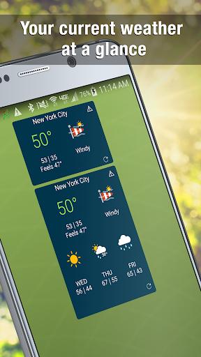 WeatherBug Widget For PC