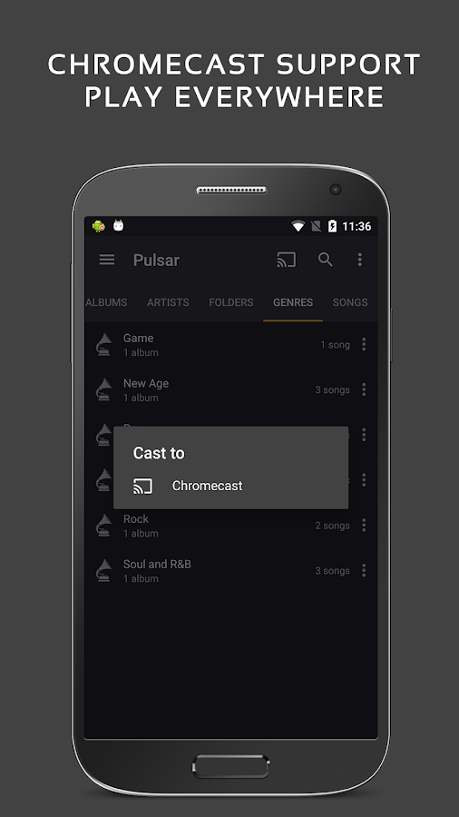 Pulsar Music Player Pro Screenshot 5