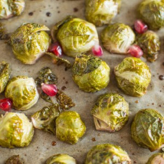 Pomegranate Glazed Brussels Sprouts