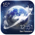 HD Transparent Weather Clock APK Descargar