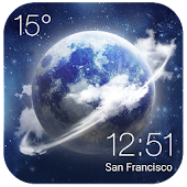 HD Transparent Weather Clock APK for Lenovo