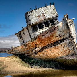 Point Reyes by Lee Molof - Transportation Boats