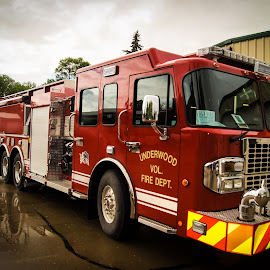 3000 gallon pumper tanker  by Gary Wahle - Transportation Other ( pumper, firefighter, tanker., fire truck,  )