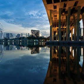 Double image by Tim Teo - Buildings & Architecture Bridges & Suspended Structures