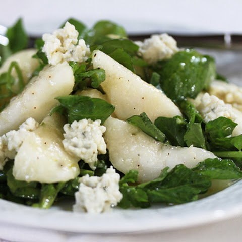 Pear, Blue Cheese & Watercress Salad