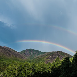 Healing Gatlinburg by Michael Osborne - Novices Only Landscapes ( mountains, rainbows, forest, rainbow, smoky mountains )