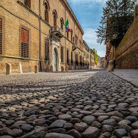 Italian street by Pascal Hubert - City,  Street & Park  Neighborhoods