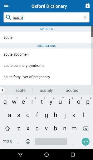 Oxford Medical Dictionary screenshot 2