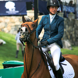 Cheese! by Michele Williams - Sports & Fitness Other Sports ( riding, horse, show jumping, teeth )