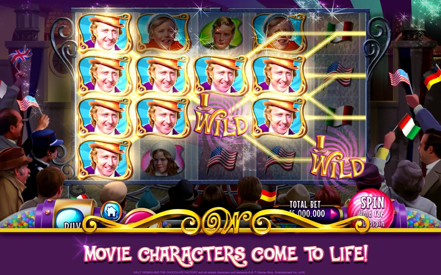 Willy Wonka Slots Free Casino Screenshot 6