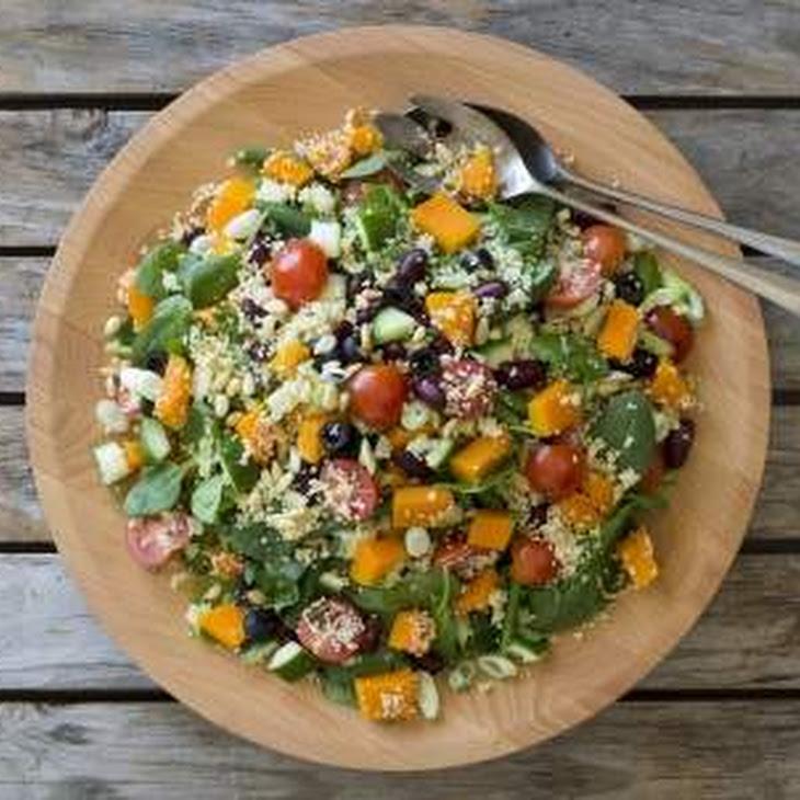 Warm Mediterranean Couscous Salad Recipe | Yummly