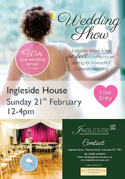 Chiseldon House Wedding Show Sunday 3rd January 12-4pm