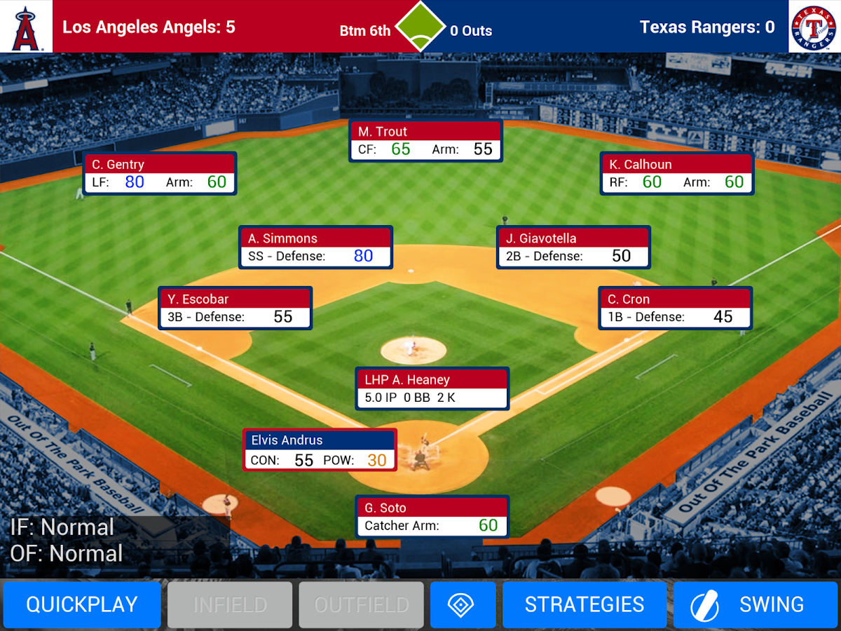MLB Manager 2016 Screenshot 5