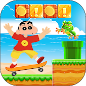 Shin skate chan world APK for Bluestacks