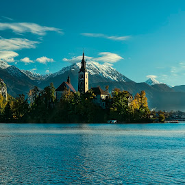 BLED - SLOVENIJA by Milan Mihalič - Buildings & Architecture Public & Historical