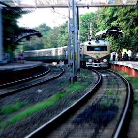 FAST & FURIOUS.......... by Arunabha Kundu - Transportation Trains ( pratiki, soham, arijit, arnab, dipankar )
