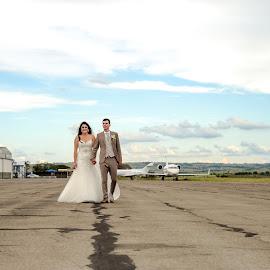 by Lindie Furstenberg - Wedding Bride & Groom