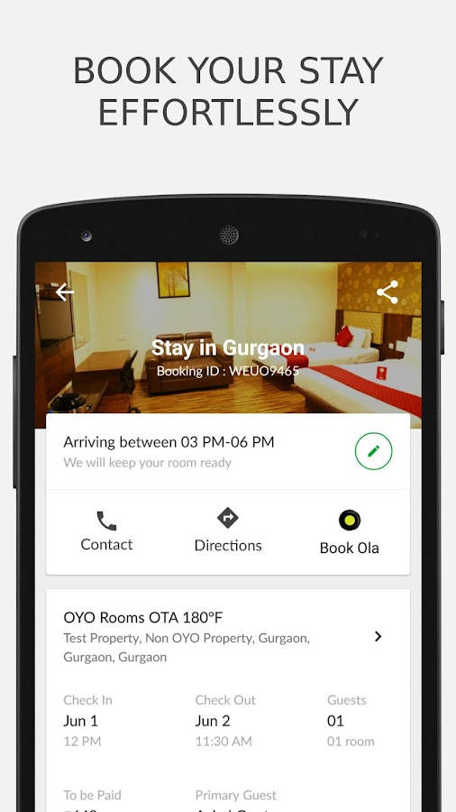 OYO - Online Hotel Booking App Screenshot 3