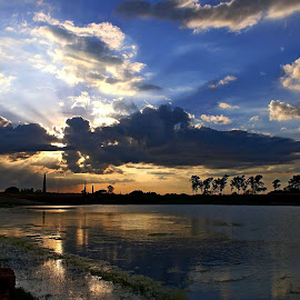 Hide and Seek by Samiran Majumder - Landscapes Cloud Formations