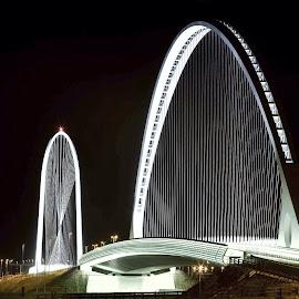 Reggio Emilia Calatrava' bridges by Marco Poli - Buildings & Architecture Bridges & Suspended Structures