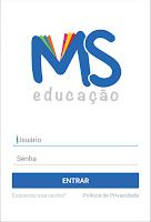 Screenshot of Espaço MS Educação
