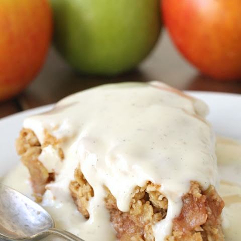 Swedish Apple Pie (gluten-free, vegan, dairy-free, 100% whole grain)