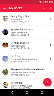 To Read – Reading List - screenshot