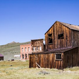 by Bea Welsh - Buildings & Architecture Decaying & Abandoned ( old house, old, building, desert, old town, abandoned,  )