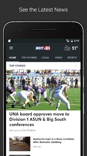 WAFF 48 Local News screenshot 1