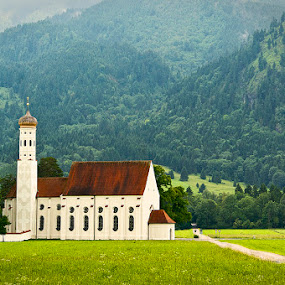 Church in Bavaria by Zdenka Rosecka - Buildings & Architecture Places of Worship