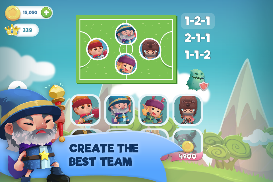 WIF Soccer Battles Screenshot 0