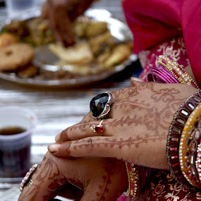 I love those beautiful hands… by Afzal Khan - People Body Parts ( bridal, hands, event, beautiful, rings, traditional, pwchands, ceremony, expressive, marriage, occasional )
