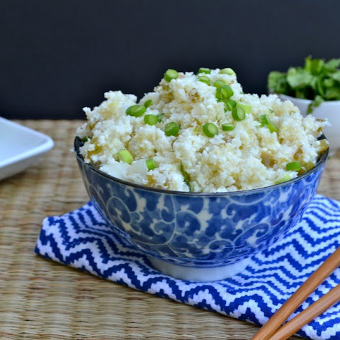 Spicy Ginger Lime Cauliflower Rice
