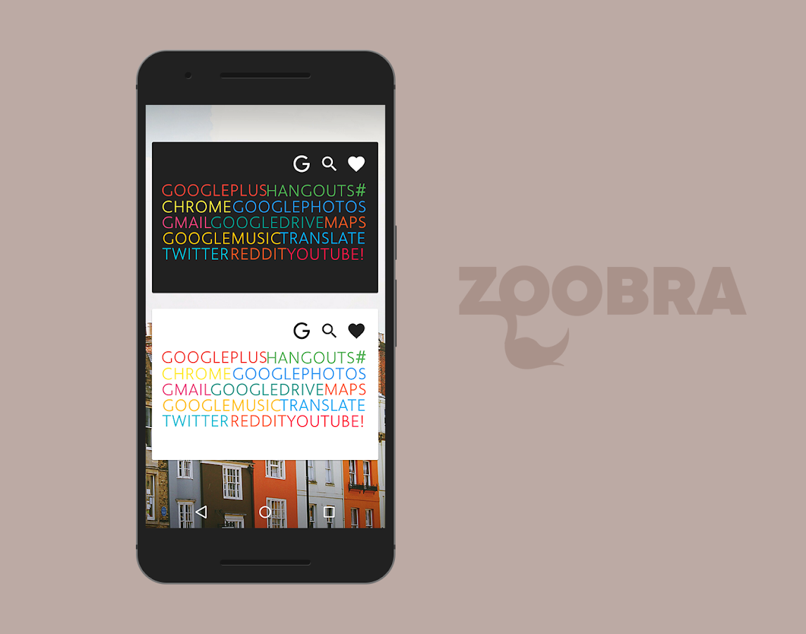 Zoobra Widgets Screenshot 5